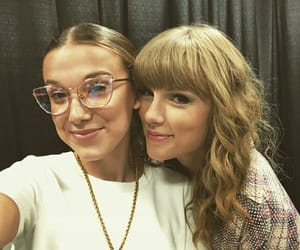 Taylor Swift, millie bobby brown, and Reputation image
