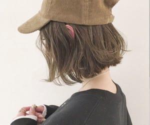 ash, asian, and bob haircut image