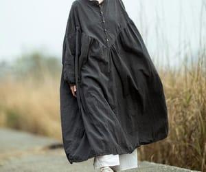 maxi dress, cotton dress, and loose dress image