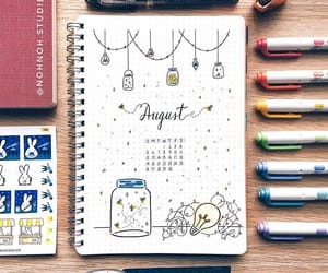 art, bujo, and bullet journal image