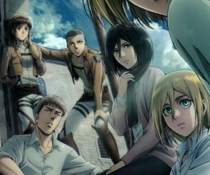 anime, manga, and snk image
