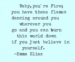 beautiful, flames, and motivation image