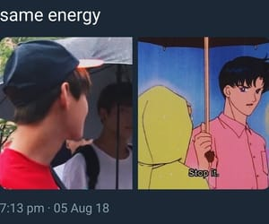 anime, rm, and bts image