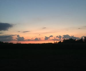 night, sky, and view image