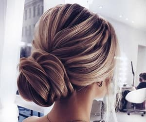 blonde, hair, and hair goals image