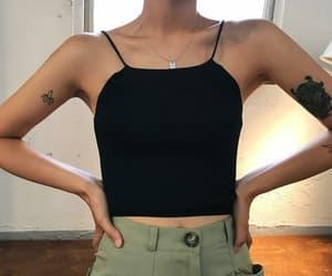 black top, summer fashion, and fashion image