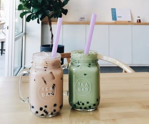 bubble tea and drinks image