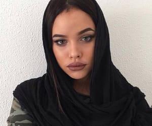 girl, nisrinasbia, and beauty image
