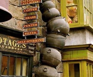 cauldron and harry potter image