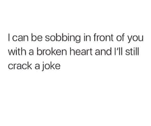quotes, sad, and joke image