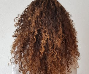 black hair, curls, and curly hair image