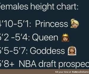 chart, funny, and height image