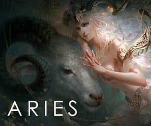 aries and zodiac image