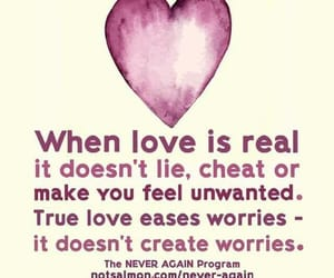 real love and worries image