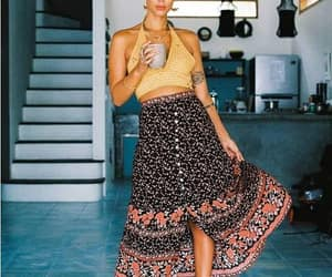 bohemian gypsy outfit image