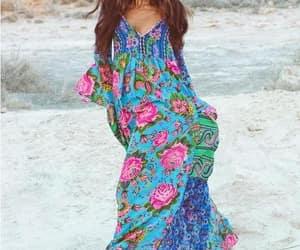 bohemian gypsy dress image