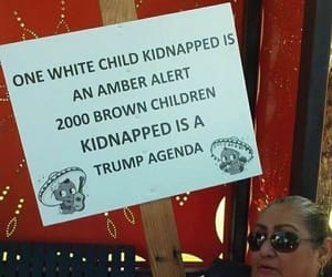 children, donald trump, and equality image