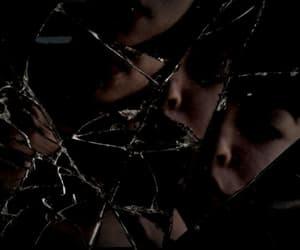 dark, shatter me, and depressed image