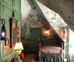 attic, bedroom, and cozy image