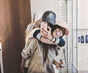 back, hats, and twins image