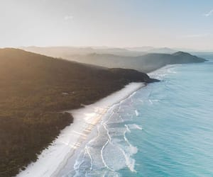 australia, beach, and nature image