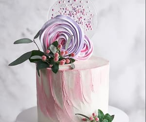 cake, food, and frosting image
