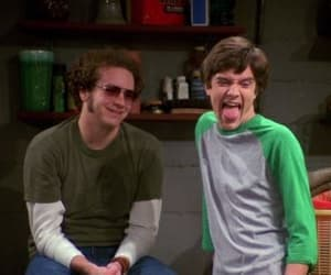 that 70s show, eric forman, and steven hyde image