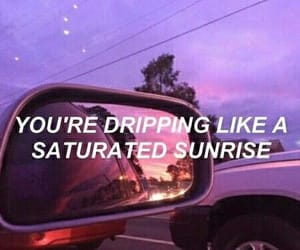 aesthetic, quote, and sunrise image