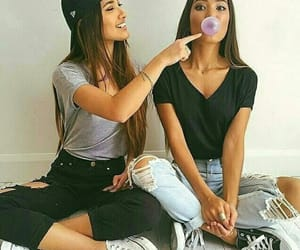 fashion, friendship, and girls image