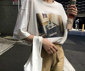 aesthetic, outfit, and oversized image