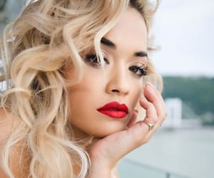 beautiful, blonde, and rita ora image