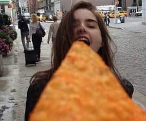 food, doritos, and girls image