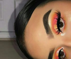 brow, lashes, and make up image