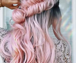 beuty, hairstyle, and haircolor image