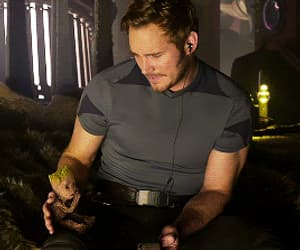 gif, guardians of the galaxy, and peter quill image