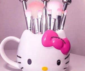 beuty, girls, and hello kitty image