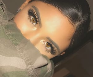 eyes, fashion, and gorgeous girly image