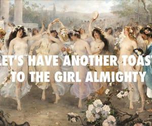 girl almighty, art, and Lyrics image
