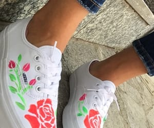 original, roses, and vans off the wall image