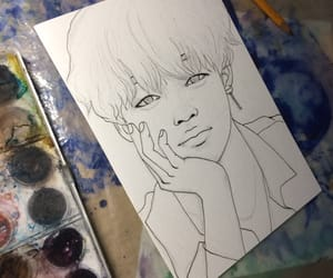 art, drawing, and fanart image