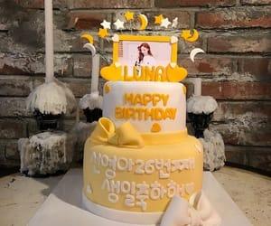 birthday, cake, and luna image
