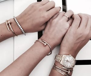 accessories, watch, and bracelets image
