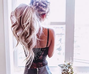 fashion, goals, and hairstyle image