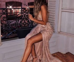 dresses, want, and rose gold image