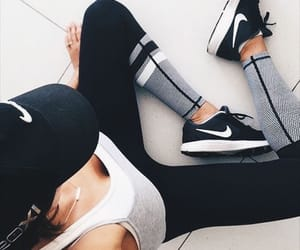nike, fitness, and girl image