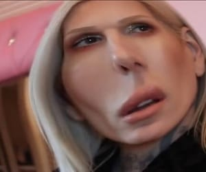 jeffree star and reaction image