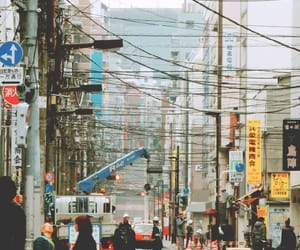 japan, street, and tokyo image