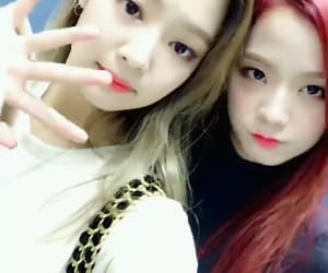 gold, white, and jennie image