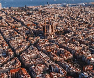 travel, Barcelona, and spain image