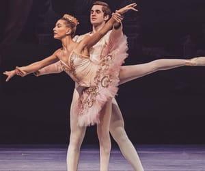 artistic, ballerina, and ballet image